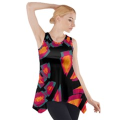 Hot, hot, hot Side Drop Tank Tunic