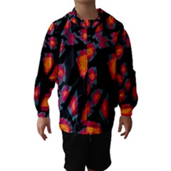 Hot, hot, hot Hooded Wind Breaker (Kids)