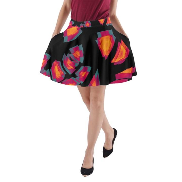 Hot, hot, hot A-Line Pocket Skirt