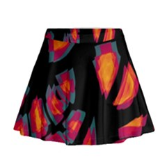 Hot, hot, hot Mini Flare Skirt