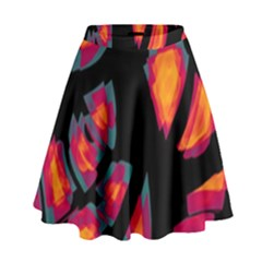 Hot, hot, hot High Waist Skirt