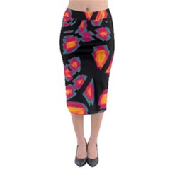 Hot, hot, hot Midi Pencil Skirt