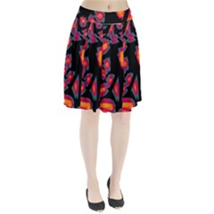 Hot, hot, hot Pleated Skirt