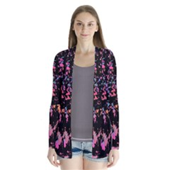 Put some colors... Drape Collar Cardigan