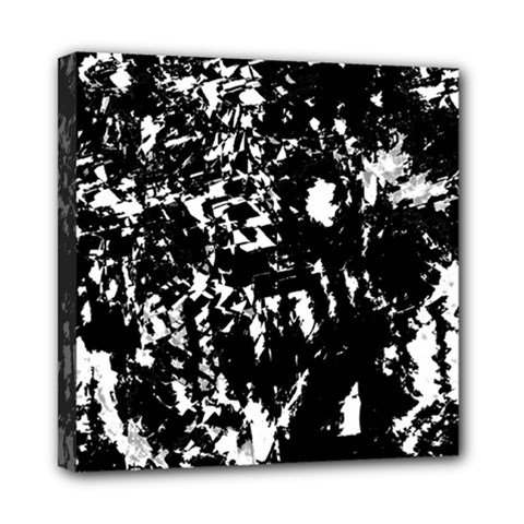 Black and white miracle Mini Canvas 8  x 8