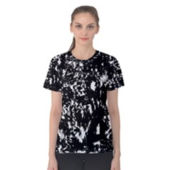 Black and white miracle Women s Cotton Tee