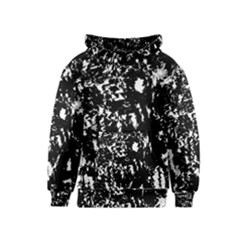 Black and white miracle Kids  Pullover Hoodie