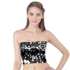Black and white miracle Tube Top