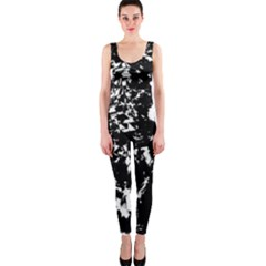 Black and white miracle OnePiece Catsuit