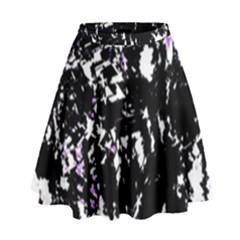 Little bit of purple High Waist Skirt