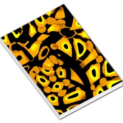 Yellow design Large Memo Pads