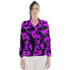 Purple design Wind Breaker (Women)