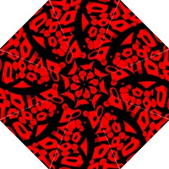 Red design Folding Umbrellas