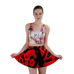 Red design Mini Skirt