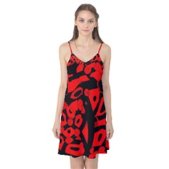 Red design Camis Nightgown