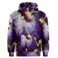 Purple Abstract Geometric Dream Men s Pullover Hoodie