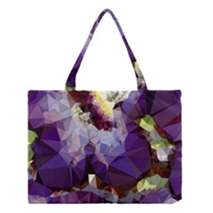 Purple Abstract Geometric Dream Medium Tote Bag