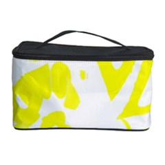 yellow sunny design Cosmetic Storage Case