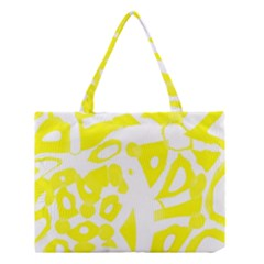 Yellow Sunny Design Medium Tote Bag