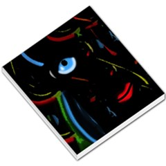 Black magic woman Small Memo Pads