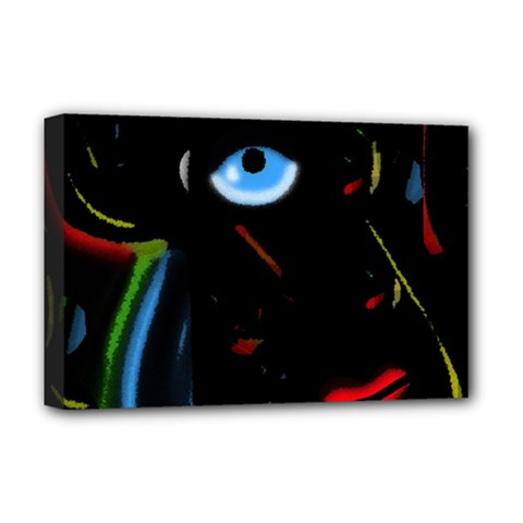 Black magic woman Deluxe Canvas 18  x 12