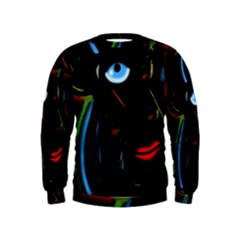 Black magic woman Kids  Sweatshirt