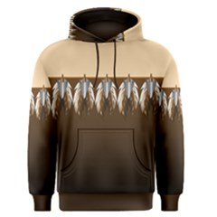 Arrowhead And Feathers Men s Pullover Hoodie