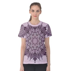 Sacred Mandala   Women s Cotton Tee