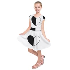 YinYangHeart Kids  Short Sleeve Dress