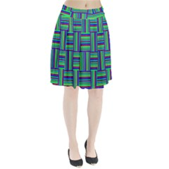 Fabric Pattern Design Cloth Stripe Pleated Skirt