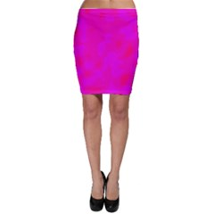 Simple pink Bodycon Skirt