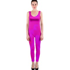 Simple pink OnePiece Catsuit