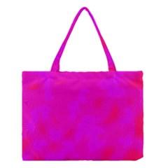 Simple Pink Medium Tote Bag