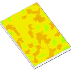Simple yellow Large Memo Pads