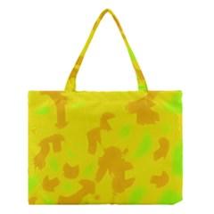 Simple Yellow Medium Tote Bag