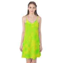 Simple yellow and green Camis Nightgown