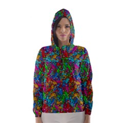 Lizards Hooded Wind Breaker (Women)