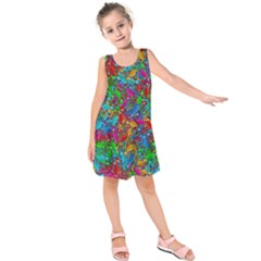 Lizards Kids  Sleeveless Dress