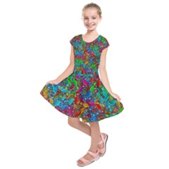 Lizards Kids  Short Sleeve Dress