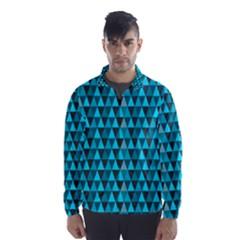 Blue Triangles Wind Breaker (Men)