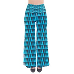 Blue Triangles Pants