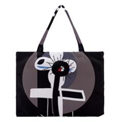 Dark Medium Tote Bag