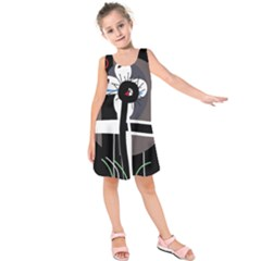 Dark Kids  Sleeveless Dress