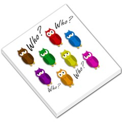 Cute owls - Who? Small Memo Pads