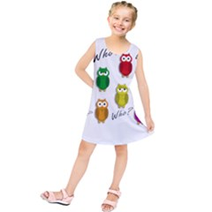 Cute owls - Who? Kids  Tunic Dress