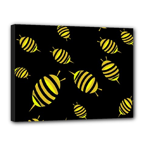 Decorative bees Canvas 16  x 12