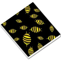 Decorative bees Small Memo Pads