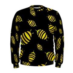 Decorative bees Men s Sweatshirt