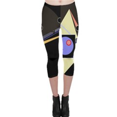 Construction Capri Leggings