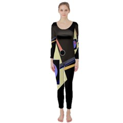 Construction Long Sleeve Catsuit